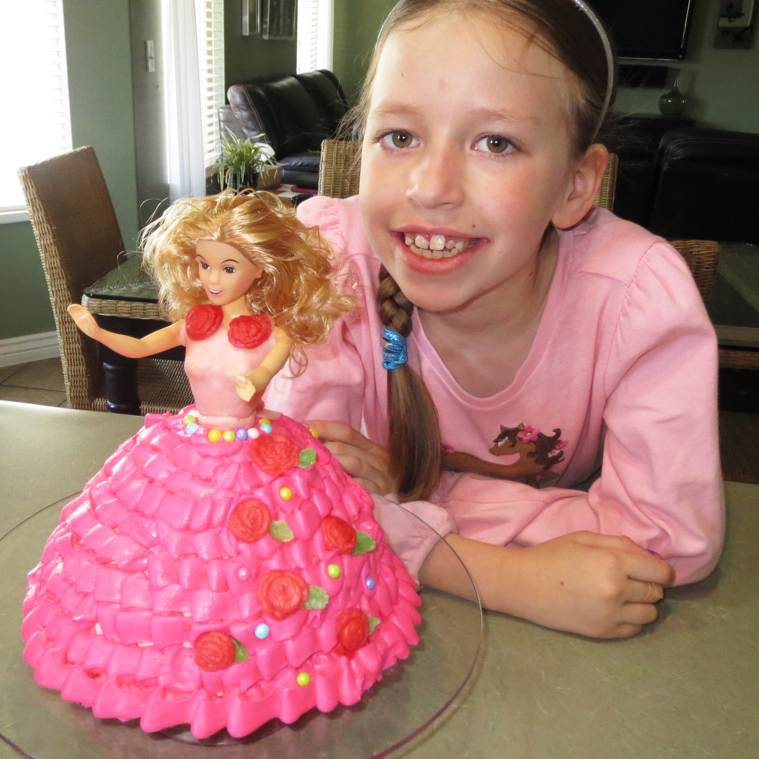 How To Make A Barbie Cake Simplified