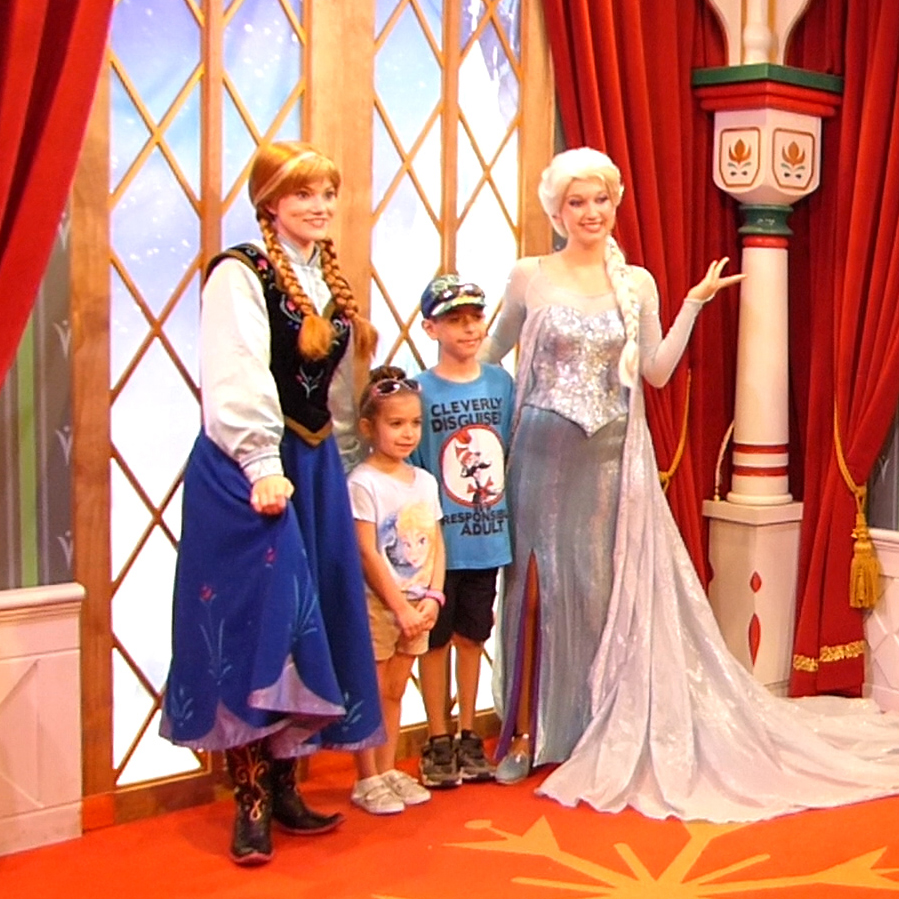 Anna And Elsa At Disney World Positively Mommy